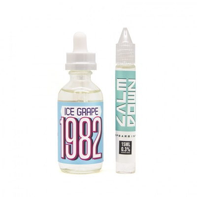 1982 Ice Grape E-Liquid - 75mL