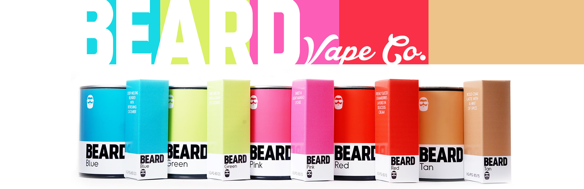 Beard Vape Co. | Color e-Liquids