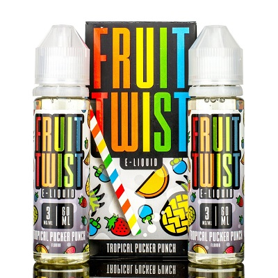Fruit Twist Tropical Pucker Punch E-Liquid 120mL