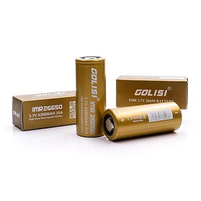 Golisi Imr 26650 4300mah High Drain Battery 35a