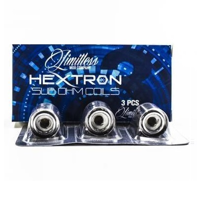 Hextron Sub Ohm Coils by Limitless (3-Pack)
