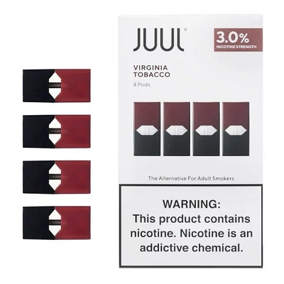 JUUL Pods 3% - Pack of 4