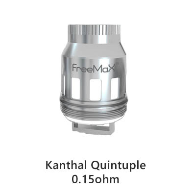 FreeMax Mesh Pro Kanthal Quintuple Mesh Replacement Coil - 3pcs
