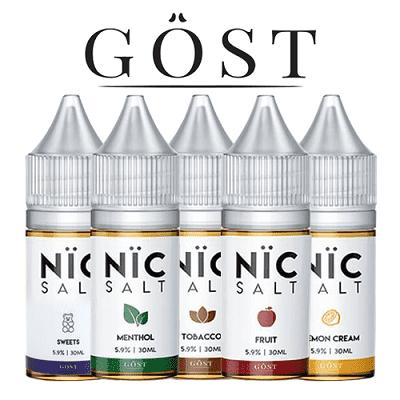 Nic Salt - Gost Vapor | Vape Juice