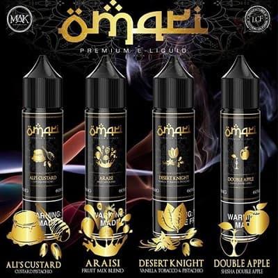 Omari Premium E-Liquid 120mL