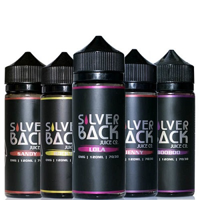 Silverback Juice Co. E-Liquid 120ML