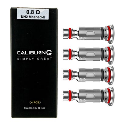 Uwell Caliburn G Replacement Coils - 4Pcs/Pack
