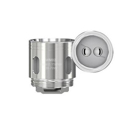 Wismec GNOME WM2 0.15 Dual Coil Series Replacement Coils (5pack)