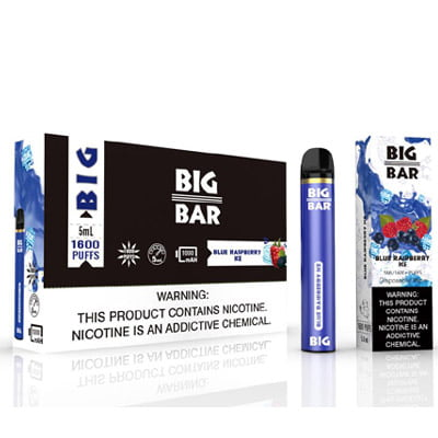 Big Bar 5% Disposable - 10Pcs/Pack