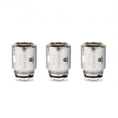 HorizonTech Falcon M Dual 0.38 Replacement Coils - 3Pack