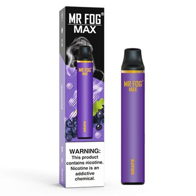 MR FOG MAX 5% Disposable Device |1000 Puffs - 10Pcs /Pack