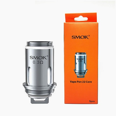 Smok Vape Pen22 Core 0.3 Replacement Coils 5/Pack