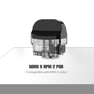 SMOK Nord X Empty Pods - 3Pcs/Pack