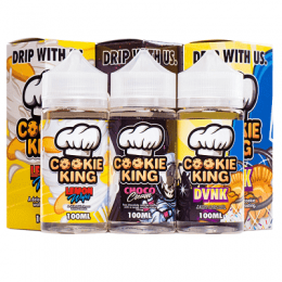 Cookie King E-Liquids by Dripmore - 100 ML