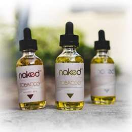Naked Tobacco E-Liquids - 60 ML
