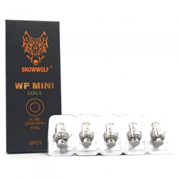 SnowWolf WF Mini Replacement Coils | Vape Coils (5/Pack)