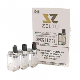 ZELTU X Replacement Pods - 3pc