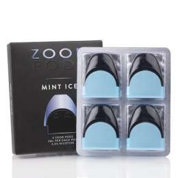 Zoor Replacement Pod Cartridges - 4 PACK